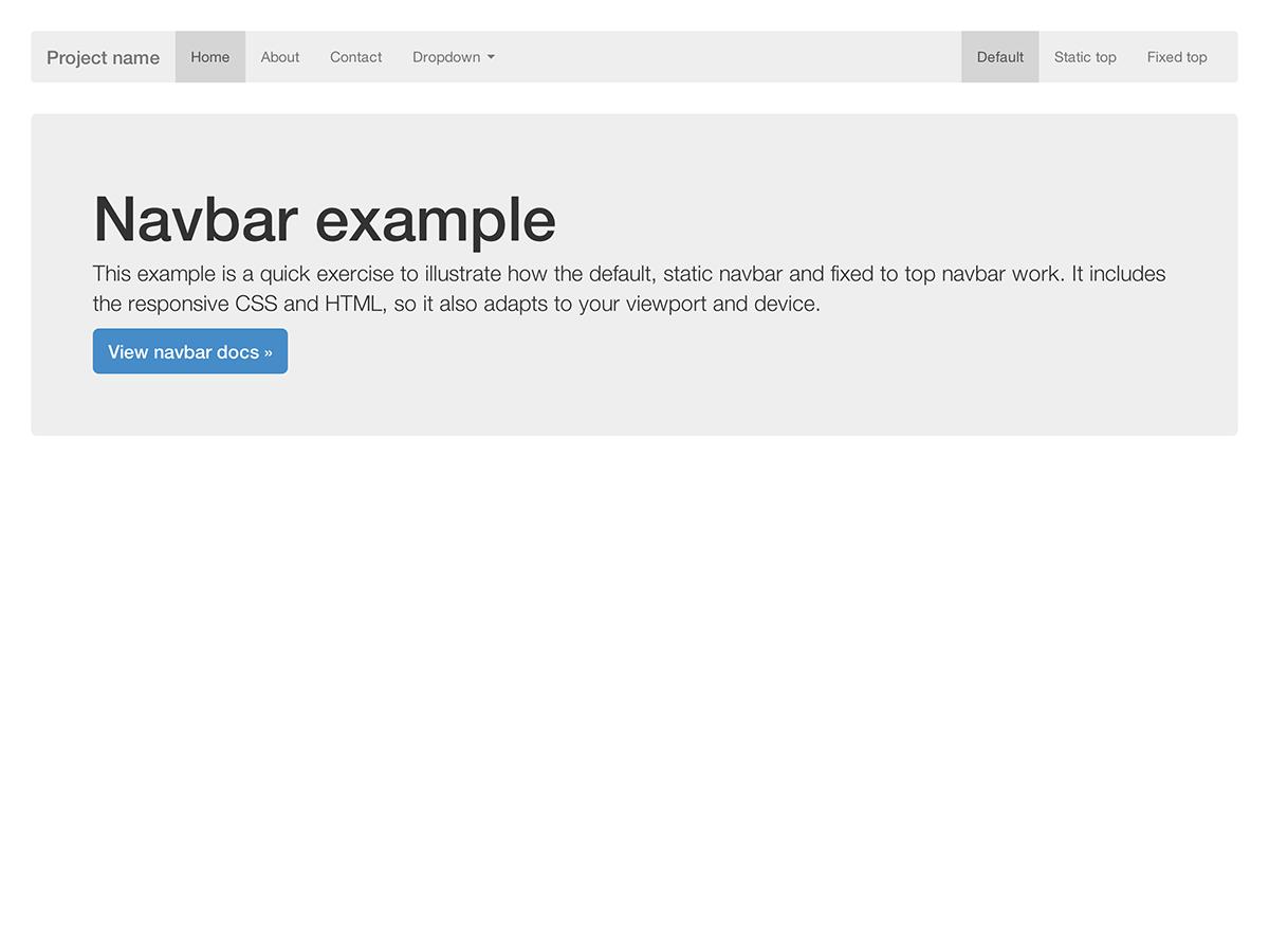 Bootstrap documentation bootstrap navbar falaconquin